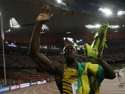 Usain Bolt Overcomes Justin Gatlin to Win Sprint Double at World Athletics